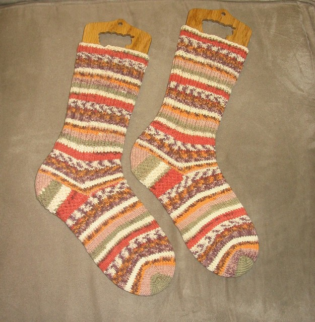 Sockina Cotton Socks - finished