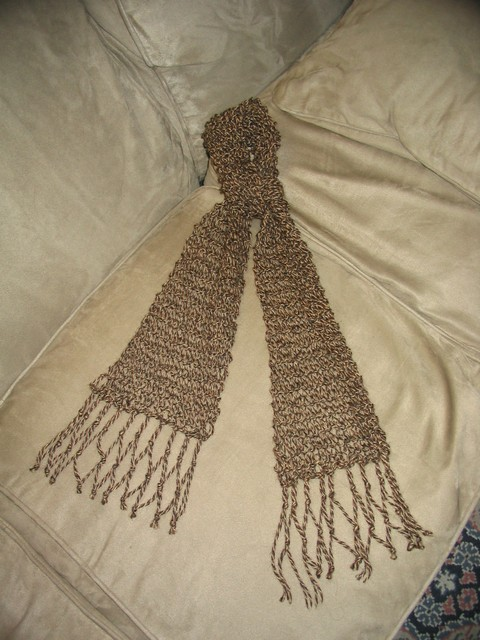 Fake Lace Scarf