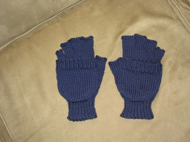 Convertible Gloves - Mittens Down