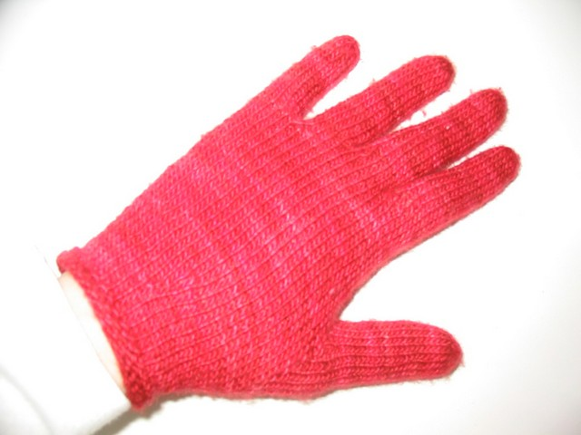 Red Gloves - perfect fit